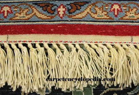 Kheft on kilim of Isfahan rug