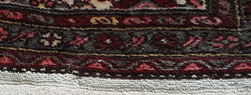 Oriental Rug kilim end example