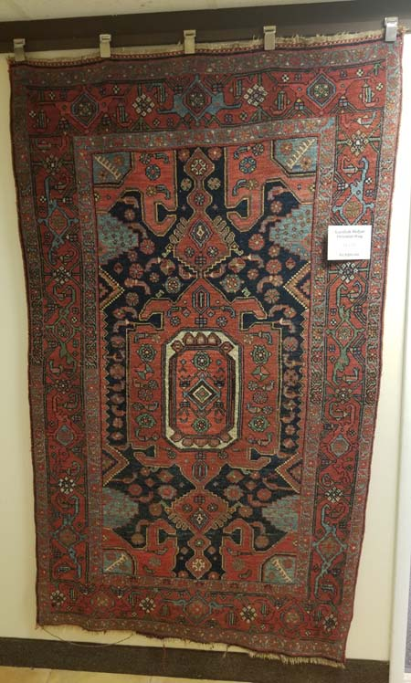 Kurdish Bidjar Oriental Rug for Sale
