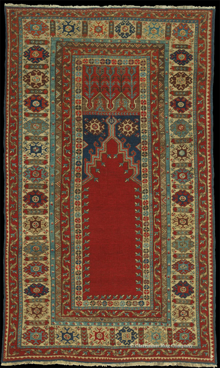 Ladik Oriental Rug-19th Century