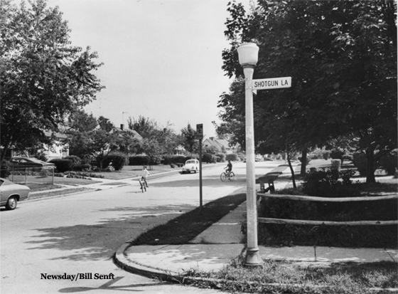 Levittown Intersection - 1969
