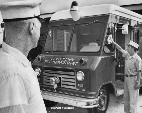 Levittown New Fire Truck -1959