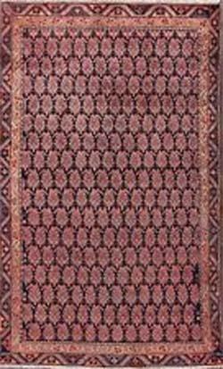 Malayer Rug with Boteh Design