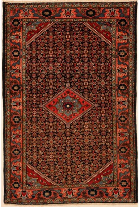 Malayer Rug with Herati Design