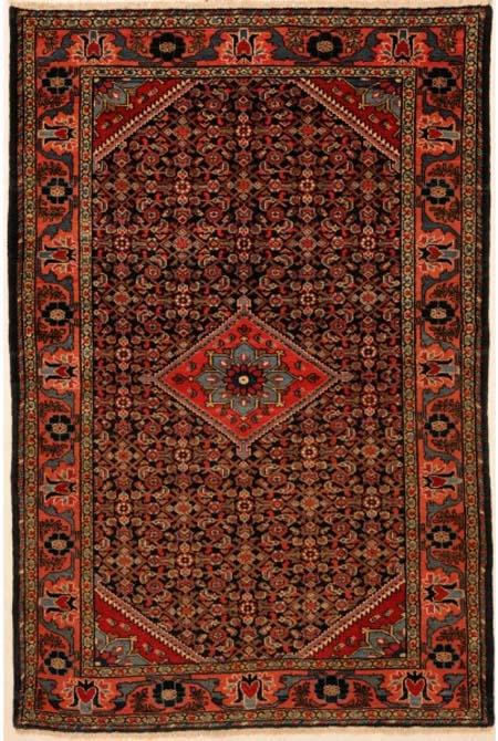 Malayer Rug with Herati Design