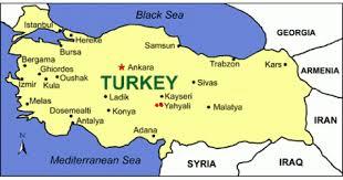 Yahyali in Turkey