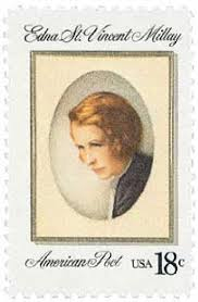 Edna St. Vincent Millay Postage Stamp