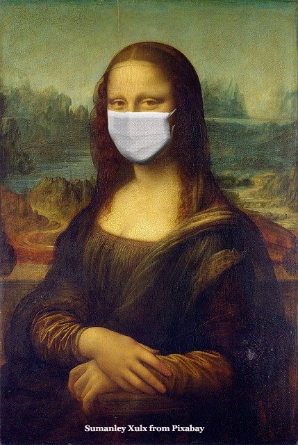 Mona Lisa with Mask