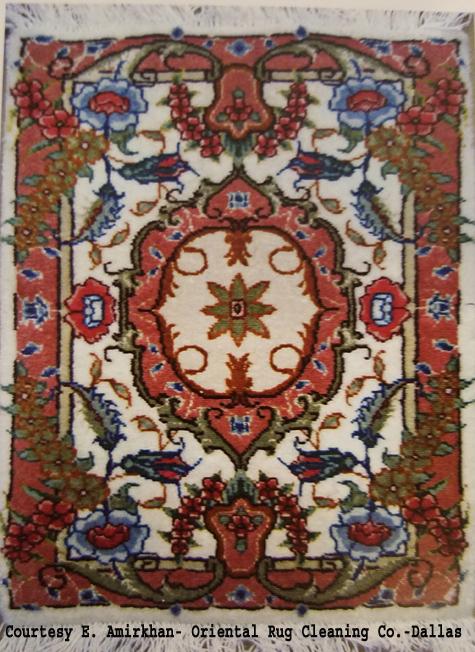 Contemporary Tabriz Oriental Rug-Nakhcheh Design