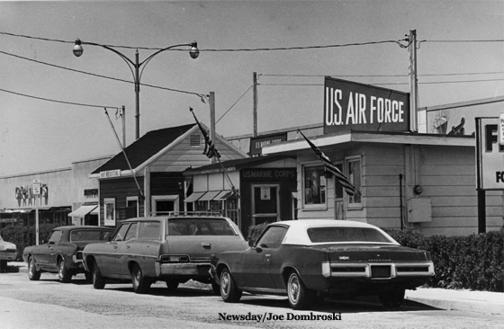 Navy, Marine, Air Force Recruiting Stations in Levittown - 1971
