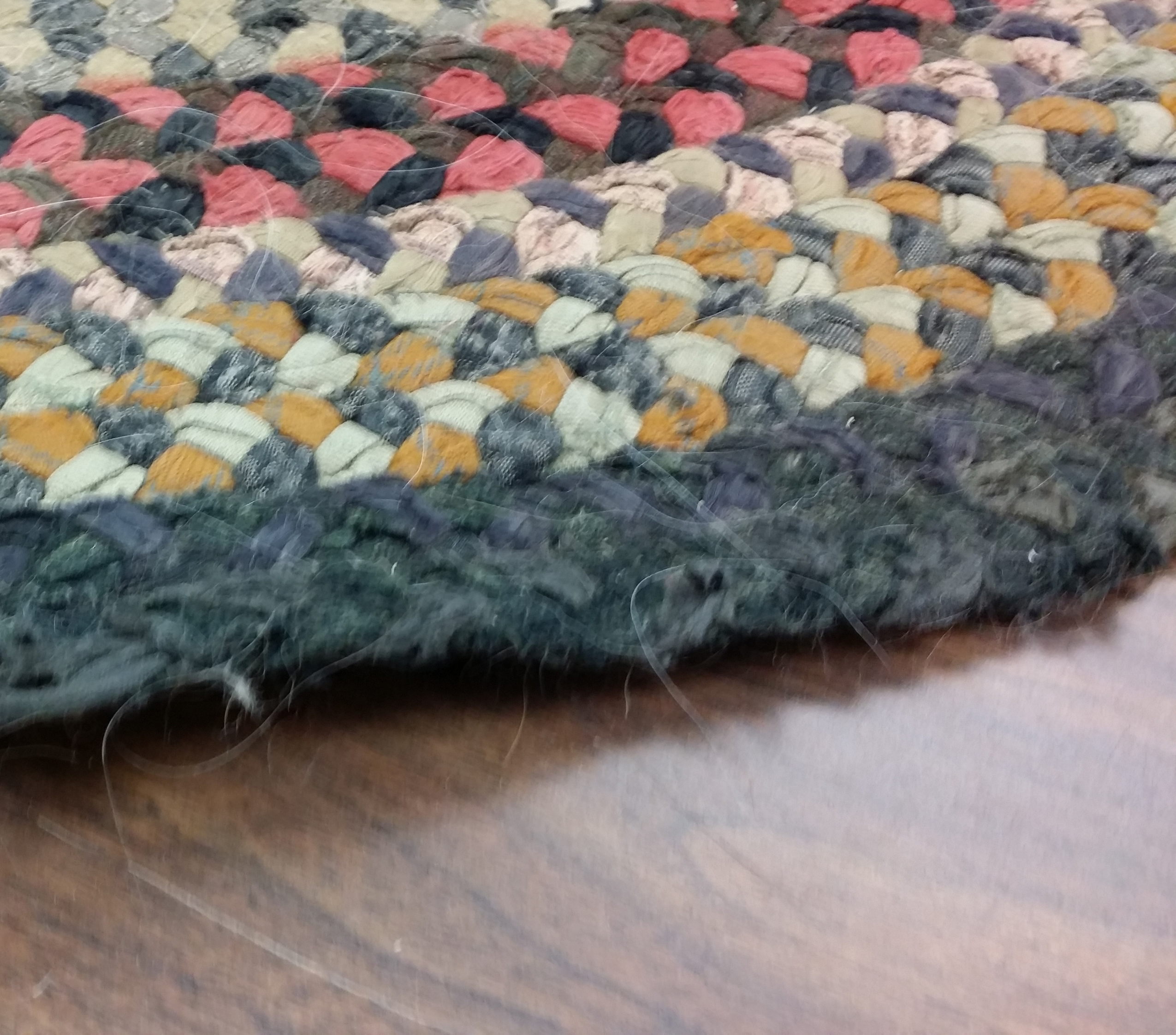 Braided Rug - After