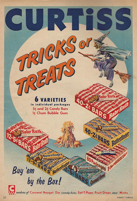Old Trick or Treat Ad