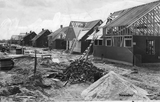 Construction of Original Homes in Levittown