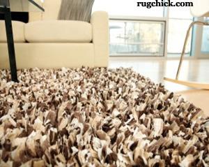 Paper Shag Rug