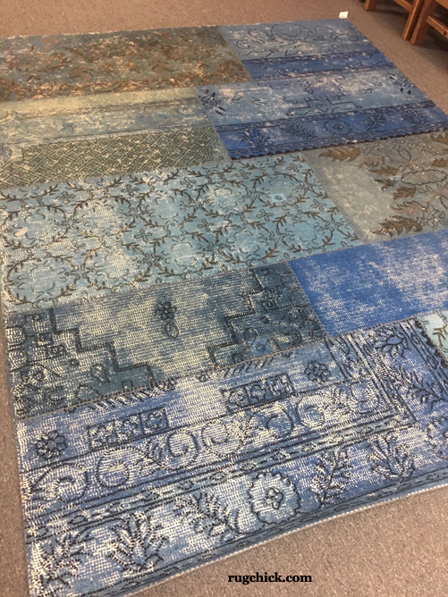 Disposable Patchwork Rug