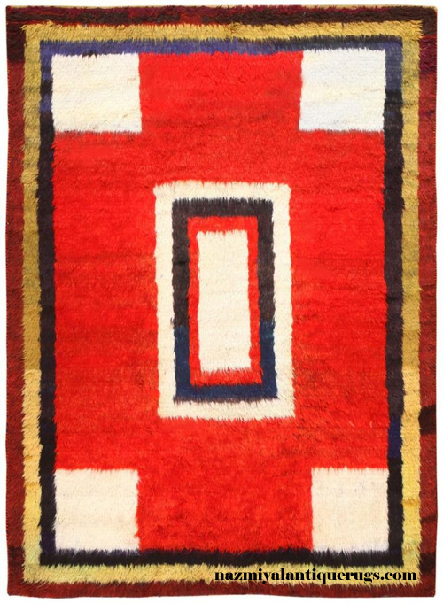Mid 20th Century Persian Gabbeh Rug
