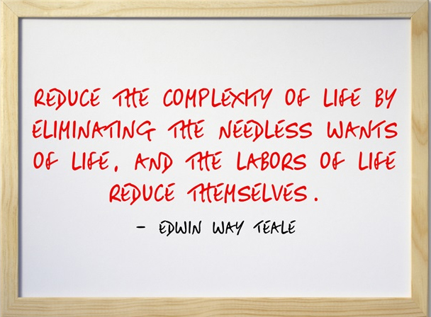 Reduce the Complexity Quote