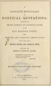 Sarah Josepha Hale Book