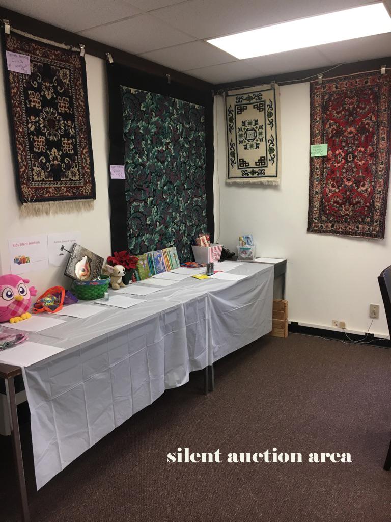 Silent Auction Area