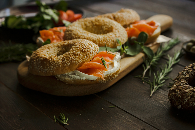 Smoked Salmon and Bagels