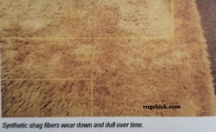 Synthetic Shag Rug