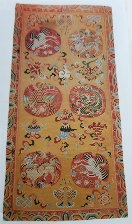 Tibetan Khaden Rug Made Especially for High Lama