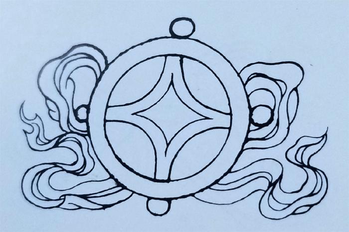 Tibetan Ordinary Symbol-The Gold Coin