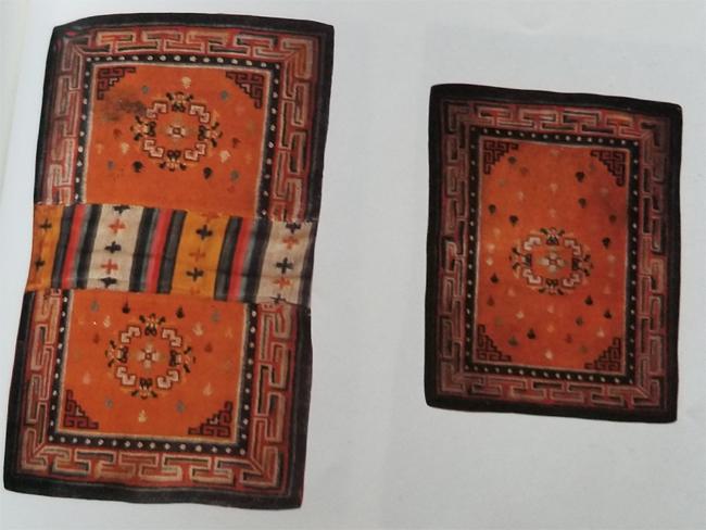 Tibetan Rectangular Bottom and Top Saddle Rugs