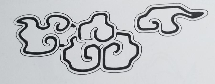 Tibetan Rug Design-The Cloud