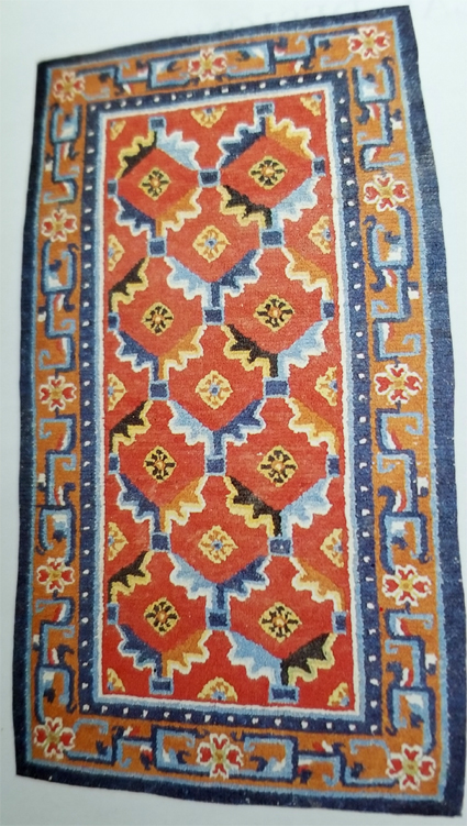 Tibetan Rug With Popular Pattern for Export to Nepal