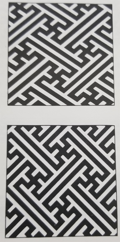 Tibetan Rug with Joined Swastika Center Field Designs