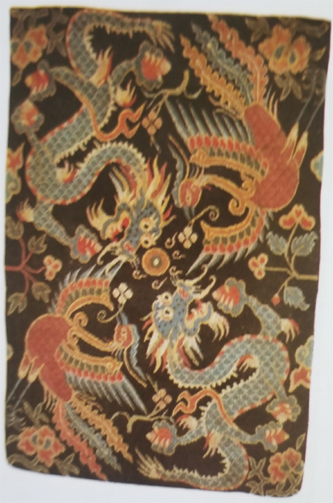 Tibetan Small Rug for Use as Seat for Important Guests on Important Occasions Always on Top of Another Rug