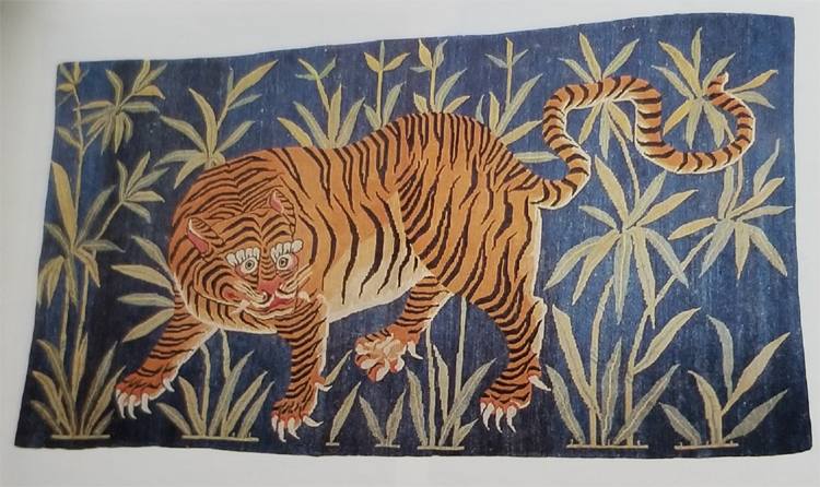 Tibetan Tiger Rug May Have Been Meant for Home Use