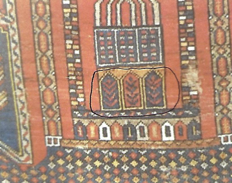 Tombstone Motif (Mezar)