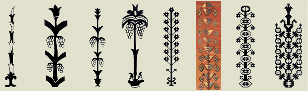 Tree of Life Motif (Hayat Agaci)
