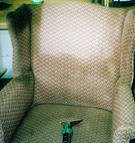 Upholstered Chair Cleaning