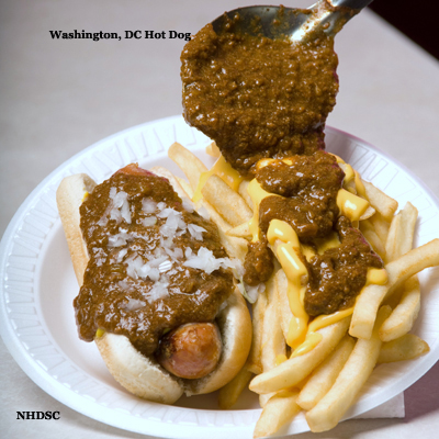 Washington DC Hot Dog
