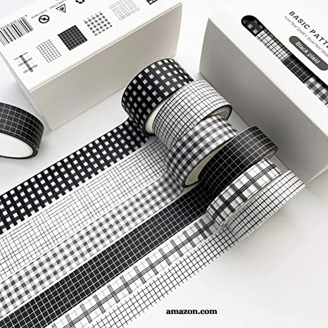 Washi Tape Black and White