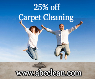 25% off Carpet Cleaning