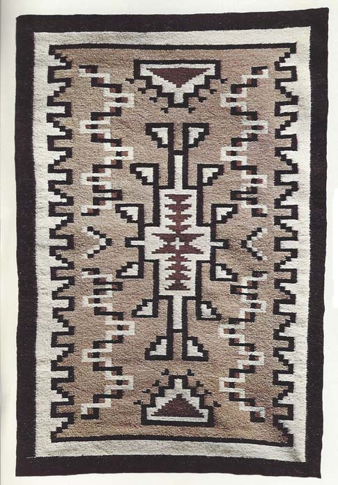 Two Gray Hills Rug
