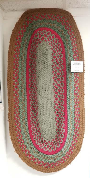 Handmade Braided Rug for Sale