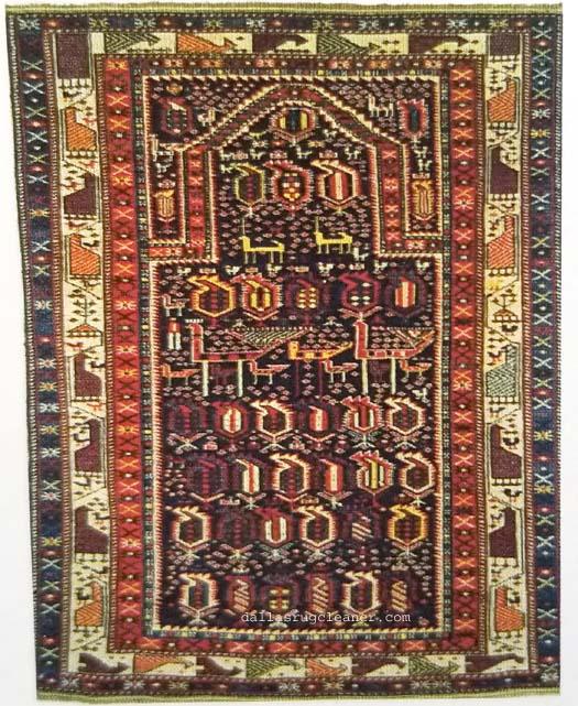 Shirvan (Persian) Prayer Rug