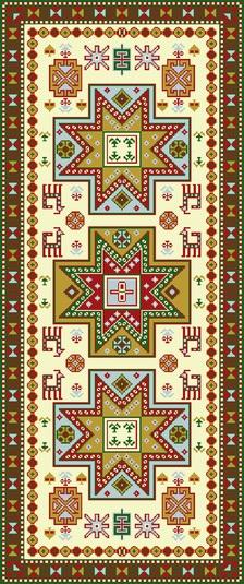 Shirvan Oriental Rug