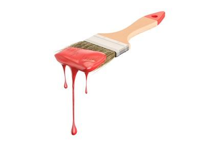 Paint Brush Dripping
