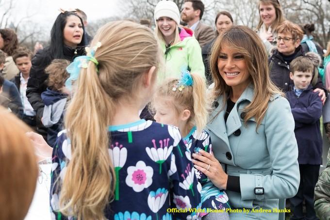 Melania Trump-4/2/18-White House Easter Egg Roll