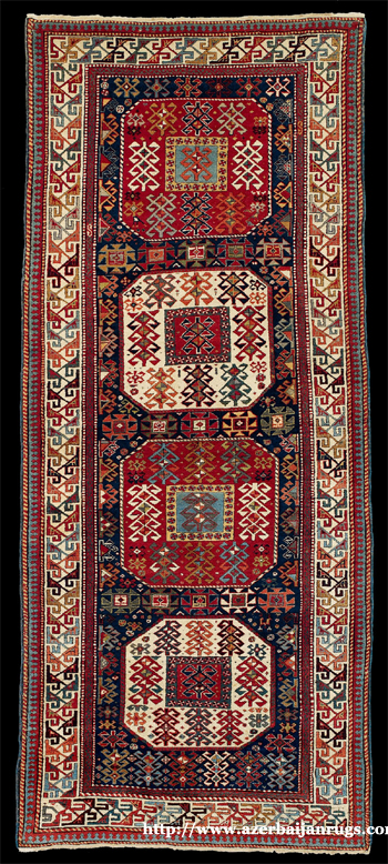 Moghan Rug 2nd Half of 19th Century