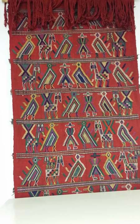 Peruvian Flatweave