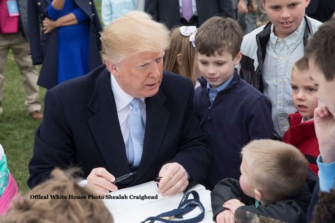 President Trump-4/2/18-White House Easter Egg Roll