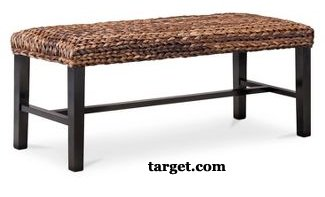 Seagrass  Bench