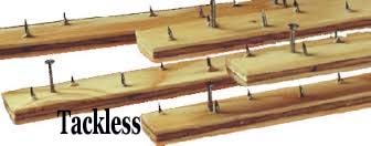 Tackless Strip